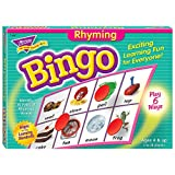 Rhyming Bingo Game,Includes 36 Playing Cards/Over200 Chips, Sold As 1 Each [importato da UK]