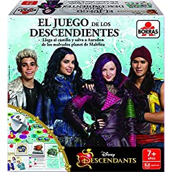 Educa Borrás- peliculas y TV Descendants, Juego de Mesa (16529)