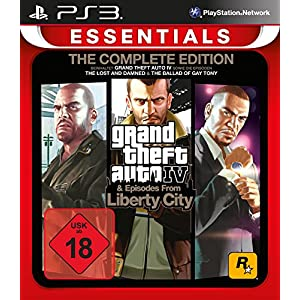 Grand Theft Auto IV Complete Edition Essentials – [PlayStation 3]