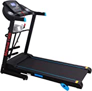 MARSHAL FITNESS Daily Exercise  Treadmill  With  Preset Exercise Program for Health and Fitness-BXZ-1450-4,Black