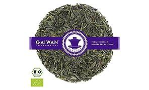 """Núm. 1166: Té verde orgánico """"Sencha"""" - hojas sueltas ecológico - 100 g - GAIWAN® GERMANY - té verde de la agricultura ecológica en China"""
