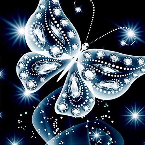 masrin 5D DIY Kreuzstich Diamant Religion Leader Icon Diamant Das Auge Mosaik True Strass Diamant Painting Bilder 5d Set 3D mit Steinen Katze Full vollbild Diamond groß Landschaft(b:25x25cm)