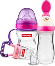 Fisher-Price Newborn Feeding Starter Kit, Pink/Purple