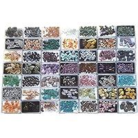 KRIO® - hochwertige Edelsteinsammlung in 49 Kunststoffdosen liebevoll abgepackt preisvergleich bei billige-tabletten.eu