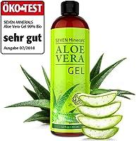 Aloe Vera Gel 99% Bio, 355 ml – ÖKO-TEST Sehr Gut – 100% Natürlich, Rein & Ohne Duftstoffe (Alkoholfrei, Kein...