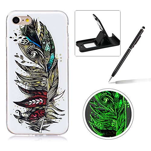 for-iphone-7-47-silicone-caseherzzer-creative-unique-stylish-retro-feather-drawing-pattern-night-lum
