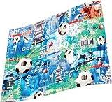 Fußball Geschenkpapier Pack Geschenkpapier (2Blatt & 2Tags)