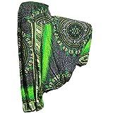 PANASIAM Aladin Pants, Design-Style: Maoi 03, Gruenton
