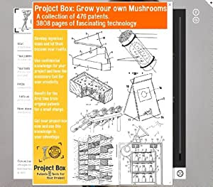 Mushrooms grow your own : Your project box includes 476 original patents as a fun way to to find out what's behind the secrets of technology!