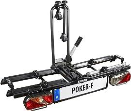 """EUFAB 12010LAS Fahrradträger: Kupplungsträger """"Poker-F"""" (ehemals """"Raven"""") klappbar, für 2 Räder"""