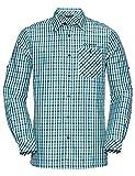 Vaude Herren Albsteig LS Shirt Hemd, Smurf Blue, XXXL
