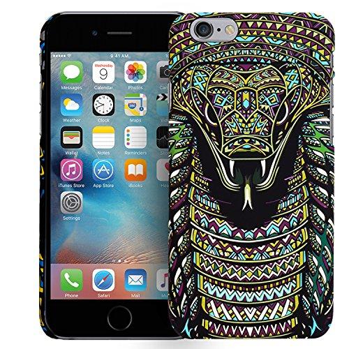 iPhone 6S, 6 Motiv Backcover, Conie Mobile PC Motiv Rückschale Hartschale Hülle Tier Muster, Leuchtefekt, Schutzhülle / Case für hinten Motiv 10