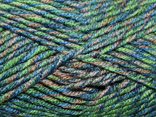 Stylecraft Mosaic Knitting Yarn Super Chunky 3616 Abstract - per 100 gram ball