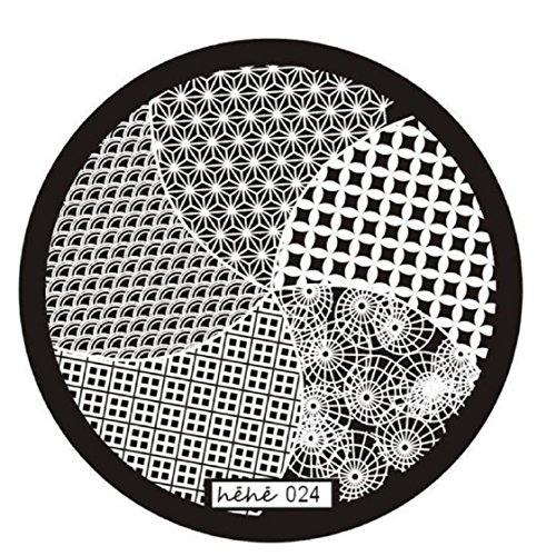 Vovotrade Nail Art Stamp image Plaques Stamping Manucure Template Hehe Série 024