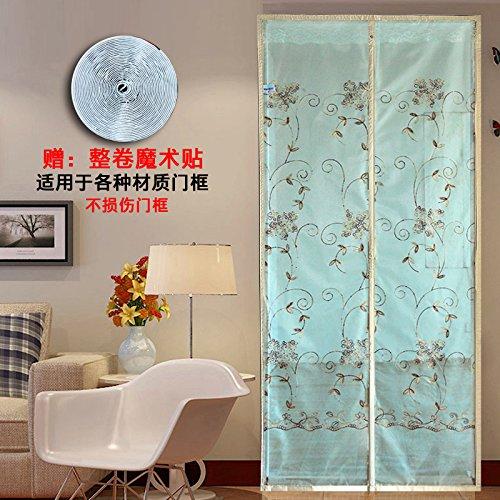 men-l-JIA Fliegengitter für Türen, moskitonetze zu hause Stumm hochwertige magnetische Tür - mücken im Sommer.-F-85x210cm(33x83inch)