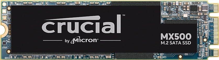 Crucial MX500 CT1000MX500SSD4 1 TB Internes SSD (3D NAND, SATA, M.2 Type 2280SS)