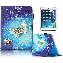 Custodia Galaxy Tab S2 8.0 in pelle, Sunroyal® PU Leather Tavoletta Protettiva Cassa per SAMSUNG (Silicon Schermo Pelle Della Protezione)