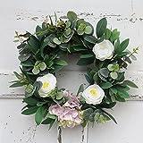 Zantec Mazzi di fiori artificiali finti, fiorisce la decorazione della finestra di parete d'attaccatura della porta, per l'ufficio, la casa, le decorazione di nozze