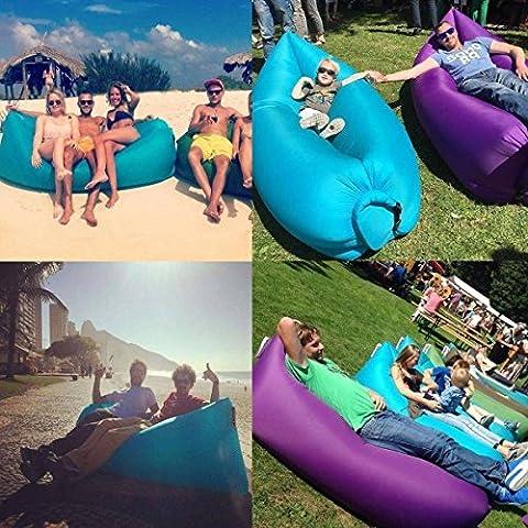 Opaca CAMTOA aria materasso gonfiabile divano Lounger sonno, sacchi, Compression Air Bag poltrona gonfiabile, per spiaggia piscina gonfiabile divano Garden