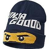 Lego Wear Jungen Lego Boy Ninjago Ayan 725-Mütze Mütze, Blau (Dark Navy 589), 6 (Herstellergröße: 52)
