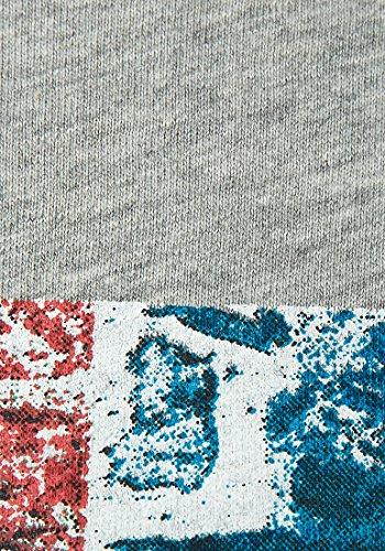 Brave Soul -  T-shirt - Uomo Grigio