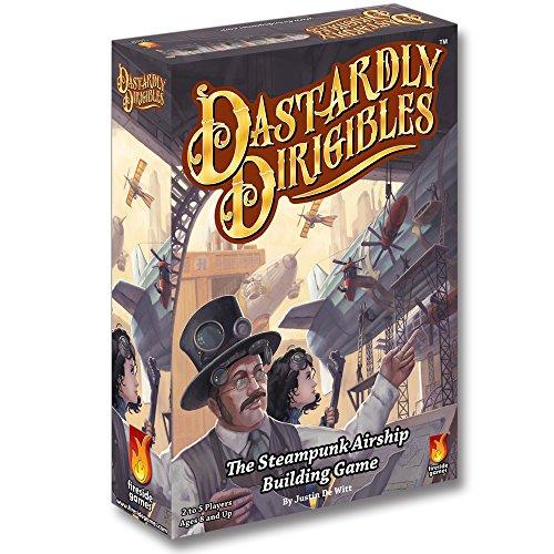 Fireside Games FSG02003 - Brettspiel 'Dastardly Dirigibles'
