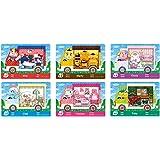 Coltum 6 stuks NFC-tag-speelkaarten voor Animal Crossing New Horizons Sanrio voor Switch/Switch Lite/New 3DS
