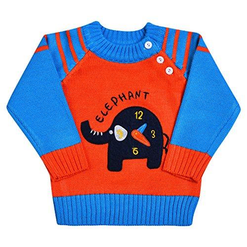 Tkria Jungen Pullover Kinder Elefant Langarmshirt Bekleidung Hemden Casual Tops Baumwolle Jahren