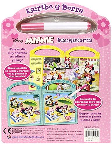 Minnie Mouse. Pintar Y Borrar