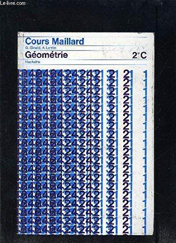 ALGEBRE 2e C- COURS MAILLARD