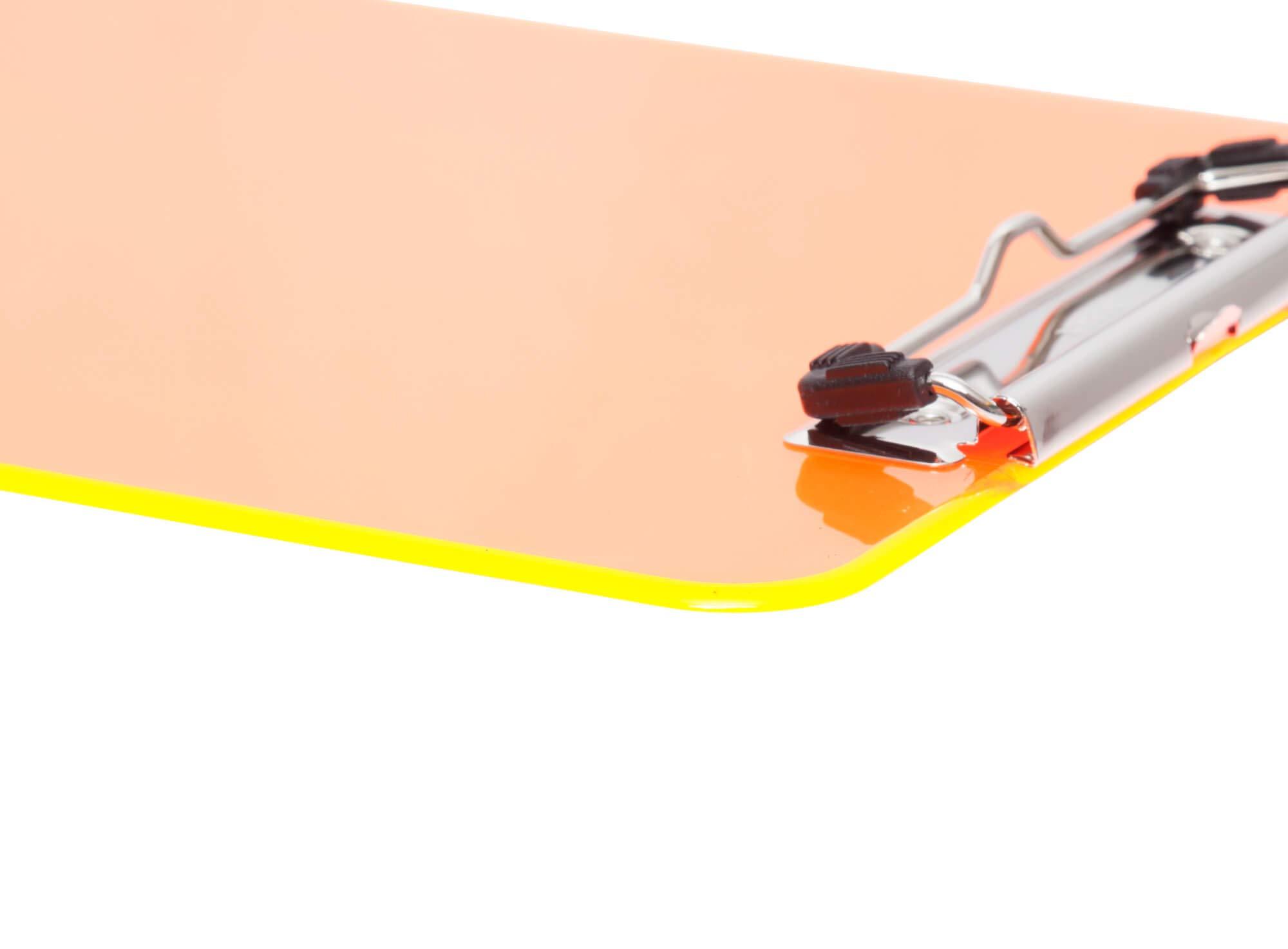 Maul | con pinza trasparente Cartella porta blocco in plastica A4
