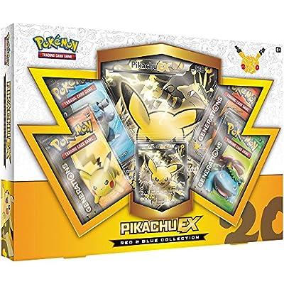 Pikachu-EX Colección de Pokémon rojo y azul por Pokemon