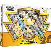 """Pokemon pok80132""""TCG rojo y azul collection, diseño de Pikachu EX"""" Juego de cartas"""