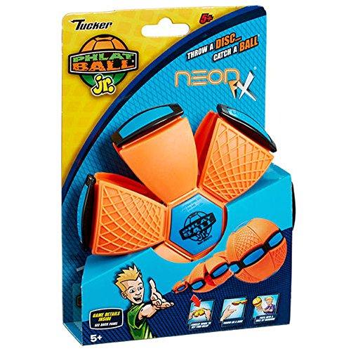 Phlat Ball Neon Orange & Blue