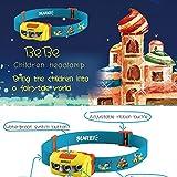 Zantec LED Scheinwerfer Kinder Lightweight Scheinwerfer Wasserdicht Camping Night Running Taschenlampe mit verstellbarem