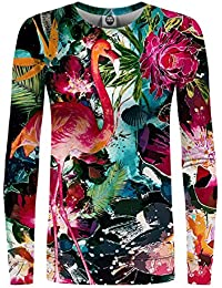 682106b04a1ba3 Mr Gugu   Miss Go Woman Printed Sweatshirt Colorful Flamingo