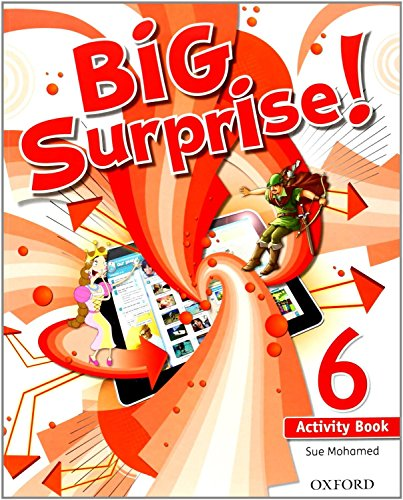 Big surprise! 6 activity book+ study skills booklet