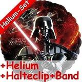 Folienballon * STAR WARS - DARTH VADER * für Kindergeburtstag oder Motto-Party // Folien Ballon Party Helium Deko Ballongas Motto Kinder Geburtstag Krieg der Sterne