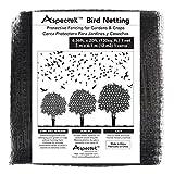 Aspectek Vogelschutznetz - 2 x 6 Meter engmaschiges Vogelnetz zur Abdeckung von Obstbäumen, Beerensträuchern und Gemüsebeeten