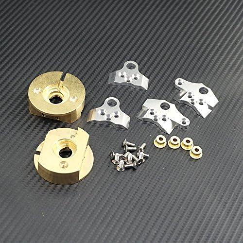 4 pièces 1/10 RC Poids de roue internes pour Axial Wraith 90018 90020 90031 RR10 Crawler | Supérieure
