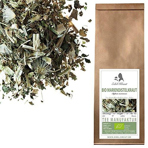 EDEL KRAUT | BIO Mariendistel Kraut Tee – Premium organic milk thistle herb cut – 100g