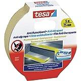tesa Anti-slipband, antislip plakband voor binnen en buiten, voor trappen, ladders en gladde vloeren, fluorescerend 5 m x 25