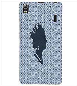 PrintDhaba Queen D-4862 Back Case Cover for LENOVO A7000 TURBO (Multi-Coloured)