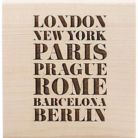 Clearsnap Teresa Collins montado sello (7,6x Londres, acrílico, multicolor