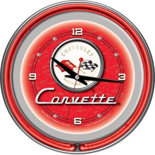 chevrolet-corvette-chrome-double-ring-neon-clock-14-by-trademark-gameroom