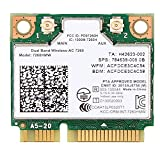 3CTop Wireless Card for 7260 802.11ac Dual Band 2x2 Wi-Fi + Bluetooth Adapter 7260HMW 867Mbps