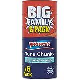 Princes Tuna Chunks in Spring Water 6 x 145g