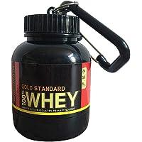 Protéines En Poudre Entonnoir Portable Supplément Poudre avec Porte- Clés Bouteille D eau Entonnoir pour Protéines…