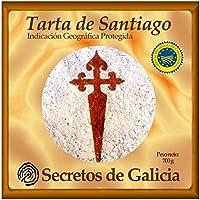 Tarta de Santiago Artesanal 700 g. Certificada por Indicación Geográfica Protegida (IXP) Galicia