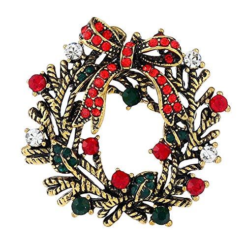 Gespout Glocken Brosche Mantel Pullover Brooch Nadel Weihnachten Brosche Geburtstag Geschenk Pin Kleidung Zubehör Dekoration